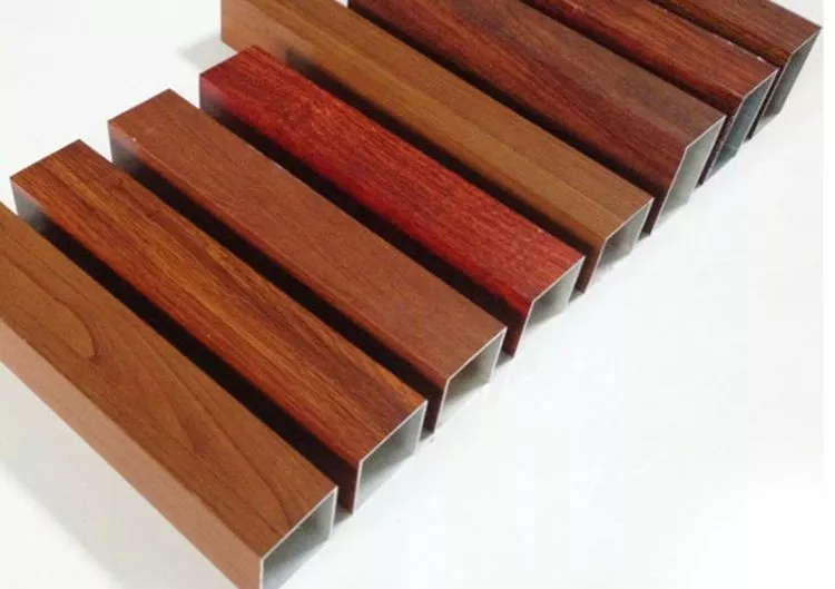 Wood Grain Transfer Printing Aluminium Alloy